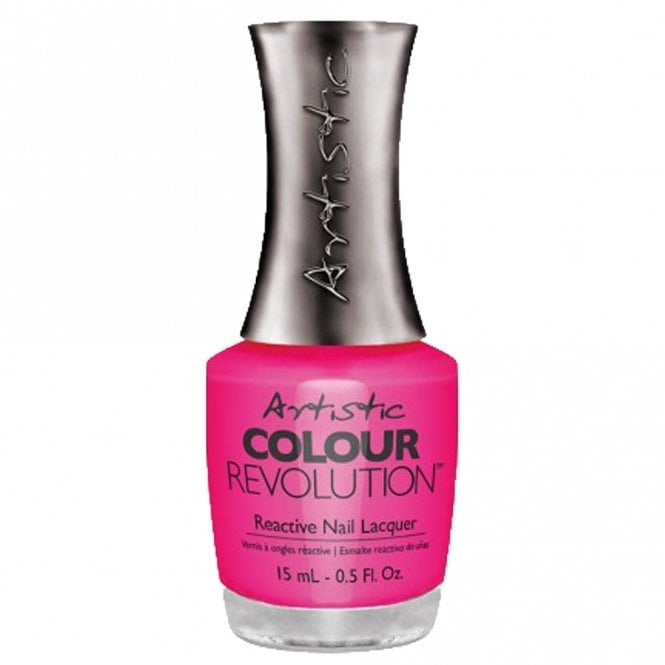 Artistic Colour Revolution Retro Redux Collection Reactive Nail Lacquer - Polka Dottie Hottie 15ml (2300018)