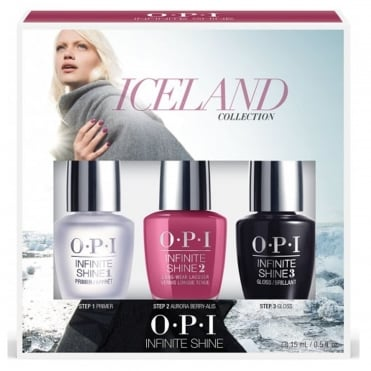 Aurora Berry-Alis Trio (3 x 15ml) - Iceland 2017 Nail Polish Collection