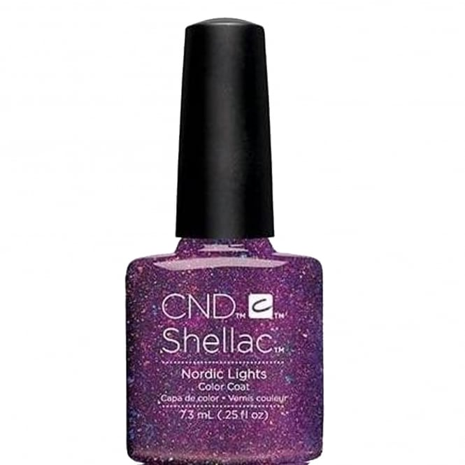CND Shellac Aurora Gel Nail Polish Colour Collection - Nordic Lights 7.3ml