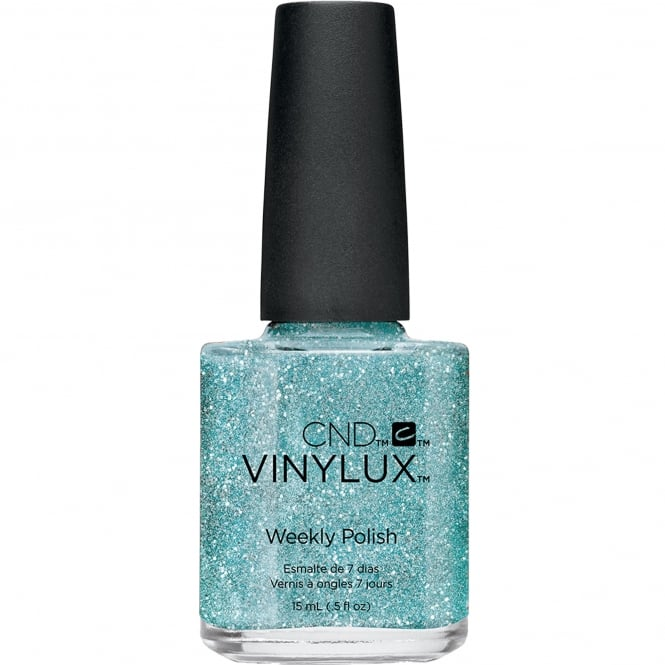 CND Vinylux Aurora Weekly Nail Polish Colour Collection - Glacial Mist 15ml