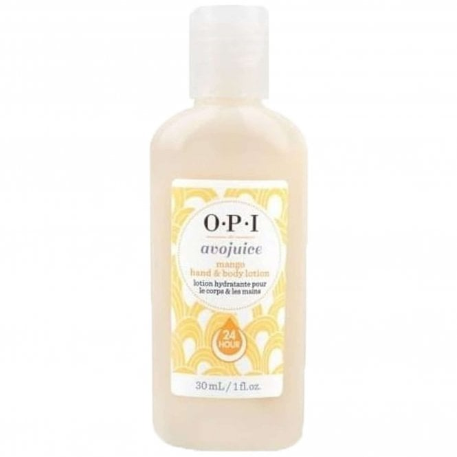 OPI Avojuice Hydrating Skin Quenchers - Mango Juicie Hand & Body Lotion 28ml