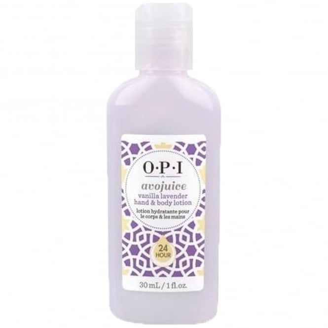 OPI Avojuice Hydrating Skin Quenchers - Vanilla Lavender Hand & Body Lotion 28ml