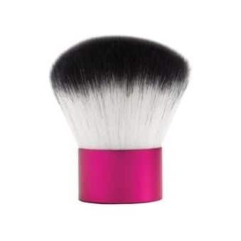 Pink and White Synthetic Bronzer Brush