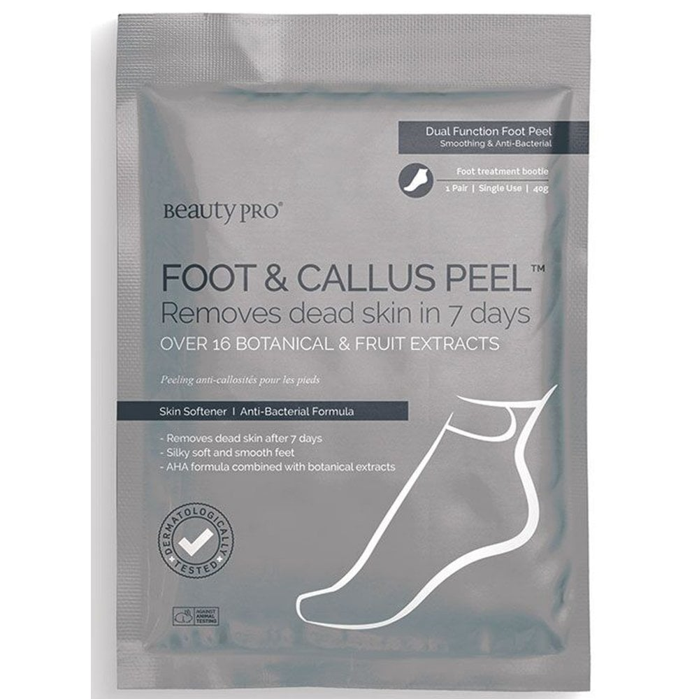 BeautyPro Foot Callus Peel Treatment Bootiee