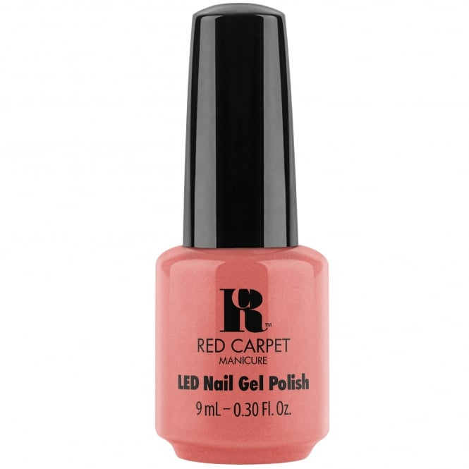 Red Carpet Manicure Gel Bloom Style 2018 Gel Polish Collection - Floral In Coral (20071) 9ml