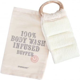 Body Wash Infused Buffer - Milk & Honey 120g