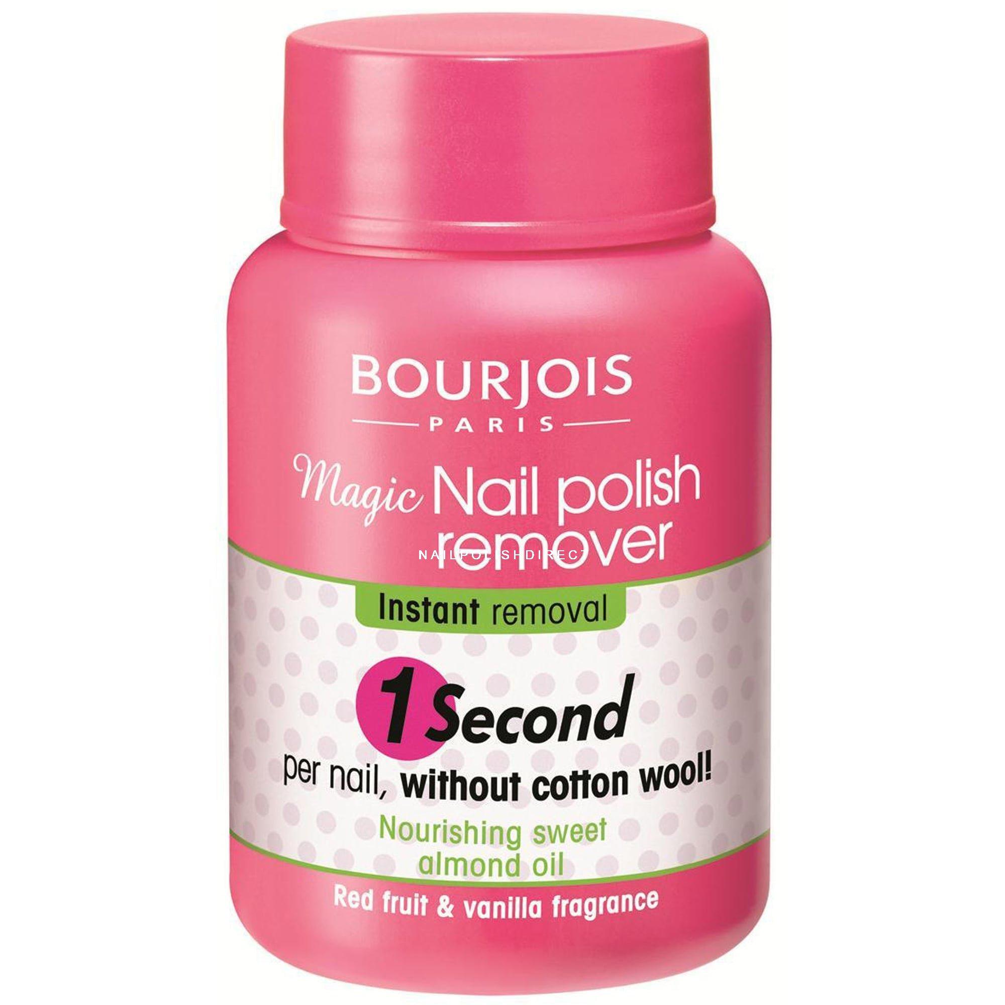 Bourjois Magic 1 Second Polish Remover For Hands Feet Nourishing 75ml