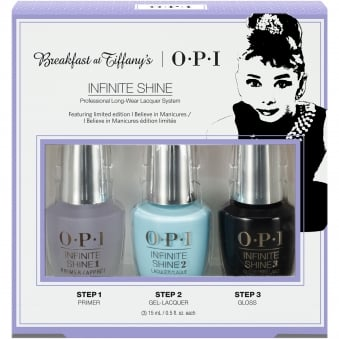 Breakfast At Tiffany's Nail Polish Collection 2016 - Trio Pack 3 x 15ml (HRH53)