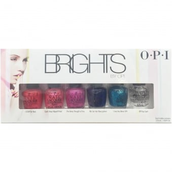 Brights Nail Polish Collection 2015 - Mini Nail Lacquer 6 Piece Set (6 X 3.75ML)