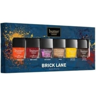 Nail Polish Collection - Brick Lane Lacquer Set (9097) (6x 6ml)