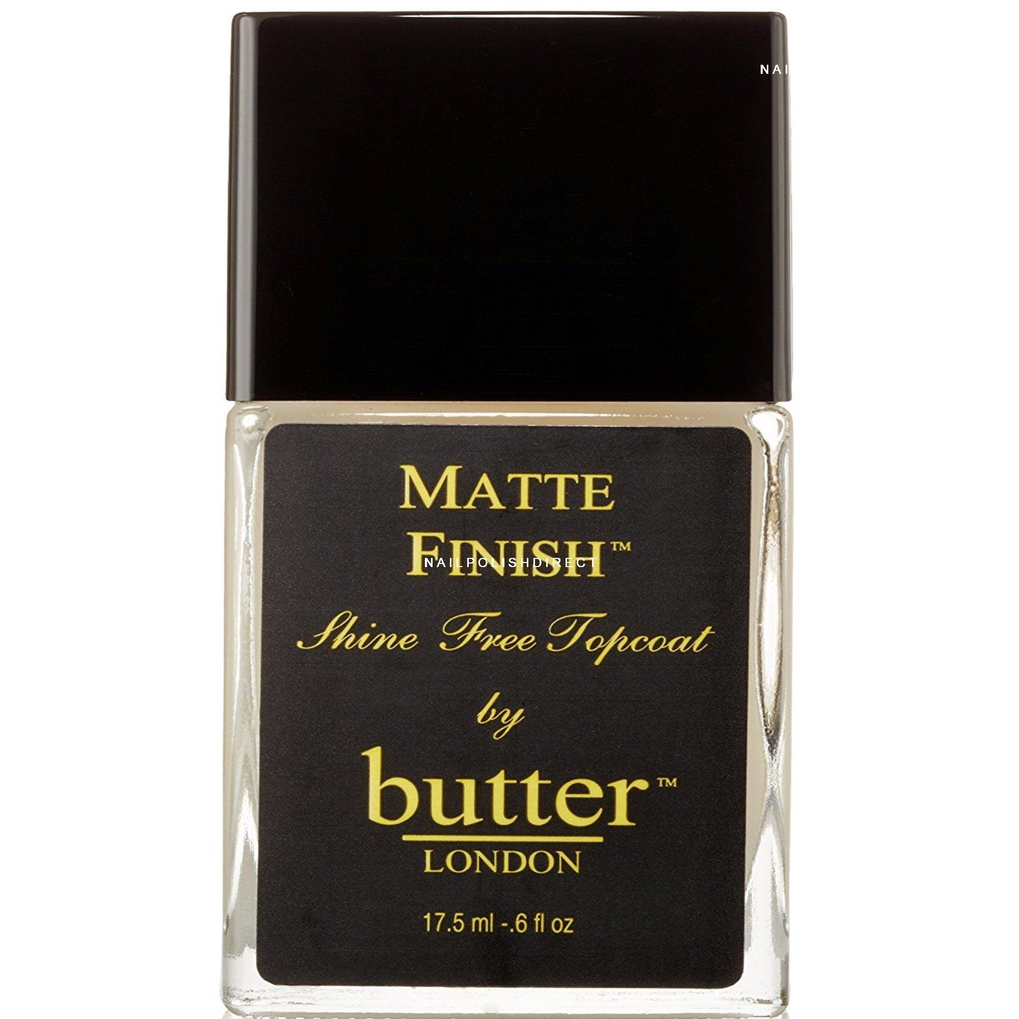 Butter London Nail Polish Treatment - Matte Topcoat (2483) 17.5ml