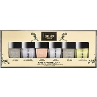 The Nail Apothecary Nail Treatment Set - 6-Piece Collection (6x 6mL)