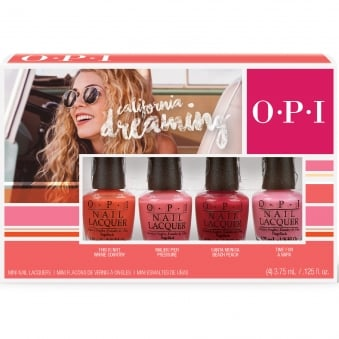 California Dreaming 2017 Nail Polish Collection - Mini Pack (4 x 3.75ml)