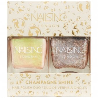 Champagne Shine - Nail Polish Duo (10335)