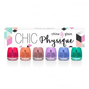 Chic Physique 2018 Nail Polish Collection - 6 Piece Micro Mini Kit