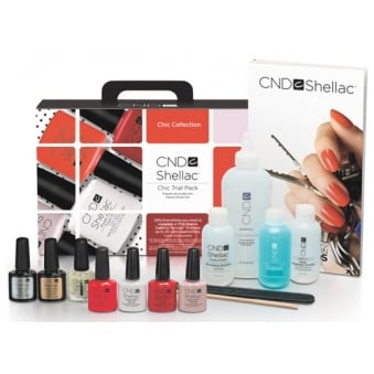 Chic Trial Pack Gel Nail Polish Kit - Chic Collection (14 Set Piece)