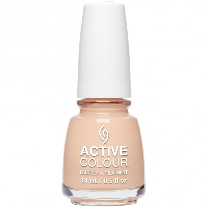 China Glaze Active Colour Nail Polish & Treatment Collection 2016 - A Nude Awakening 14ml