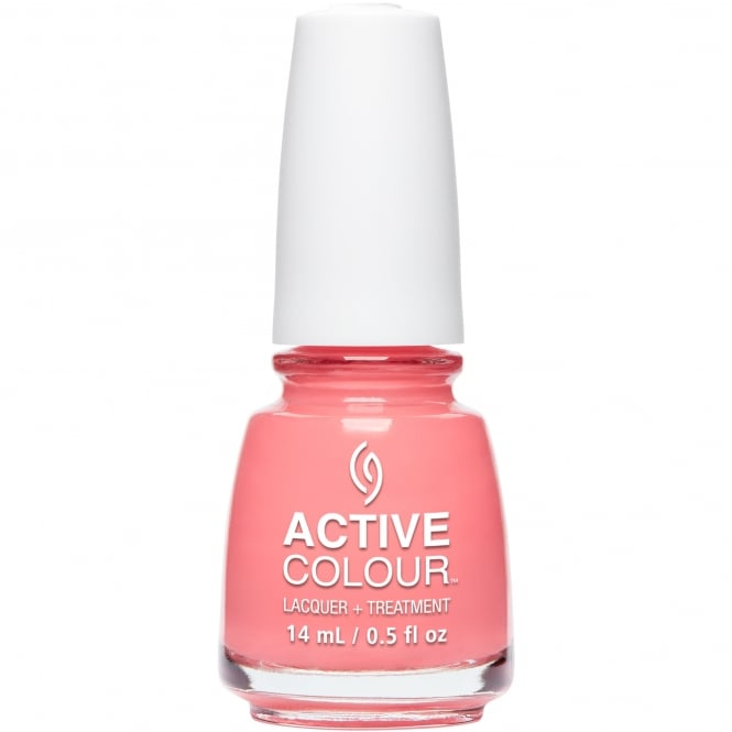 China Glaze Active Colour Nail Polish & Treatment Collection 2016 - For Coral Support (83914) 14ml