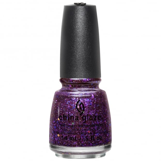 China Glaze Cheers Nail Polish Christmas Holiday Collection 2015 - Brand Sparkin New Year 14mL (82768)
