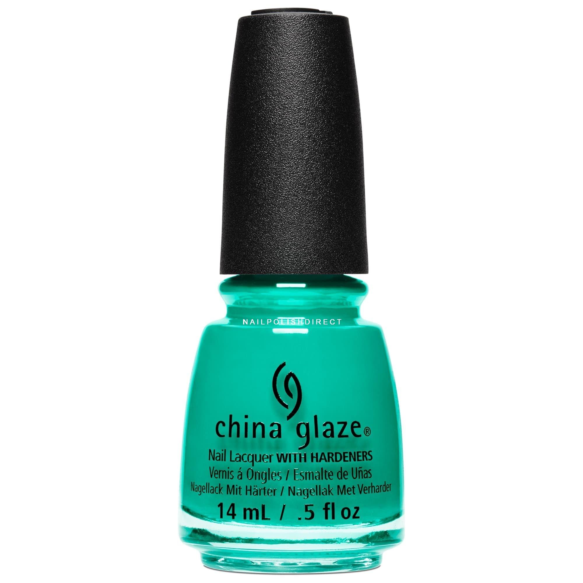 Green Nail Polish in OPI, Jessica, China Glaze, Essie & CND Vinylux