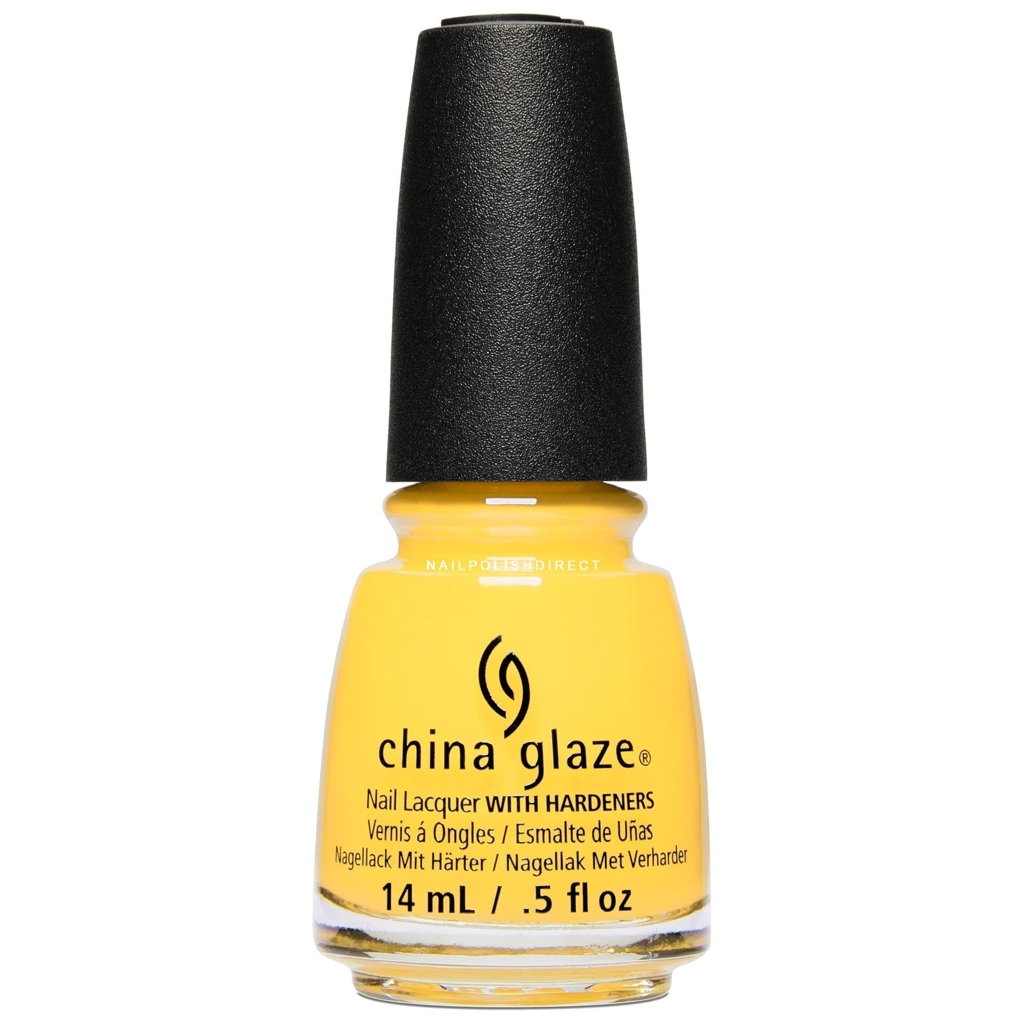 Yellow Nail Polish in OPI, Jessica, China Glaze, Essie & CND Vinylux