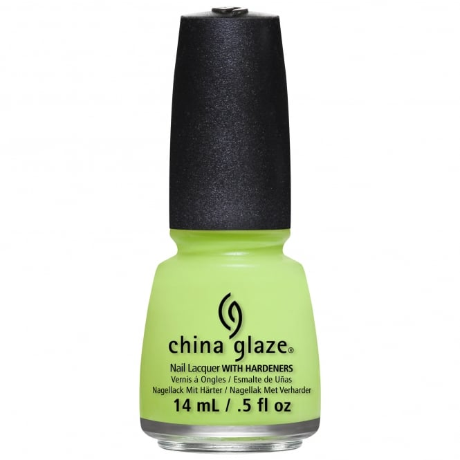 China Glaze City Flourish Nail Polish Collection 2014 - Grass Is Lime Greener 14ml (81766)