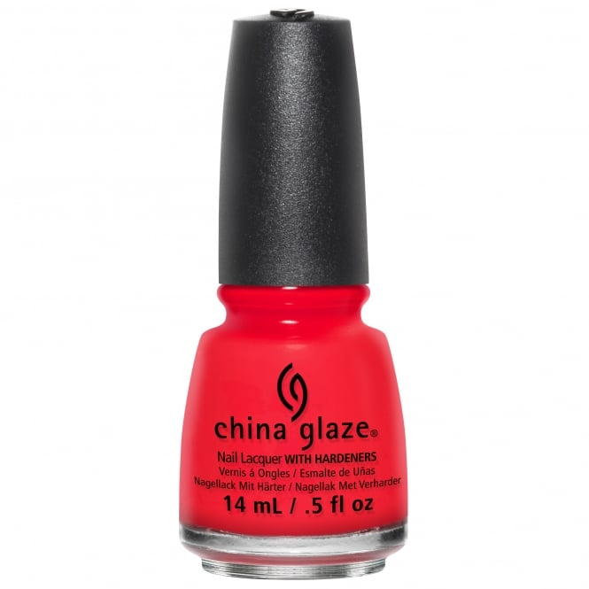 China Glaze Desert Escape Nail Polish Collection 2015 - The Heat Is On 14mL (82653)