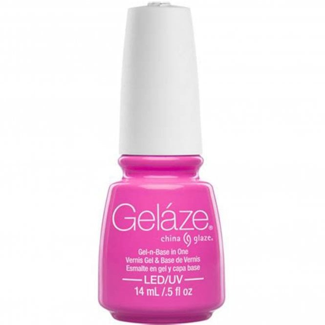 China Glaze Gel Polish China Glaze Electric Nights LIMITED EDITION Gel Nail Lacquer - Glow With The Flow 14mL