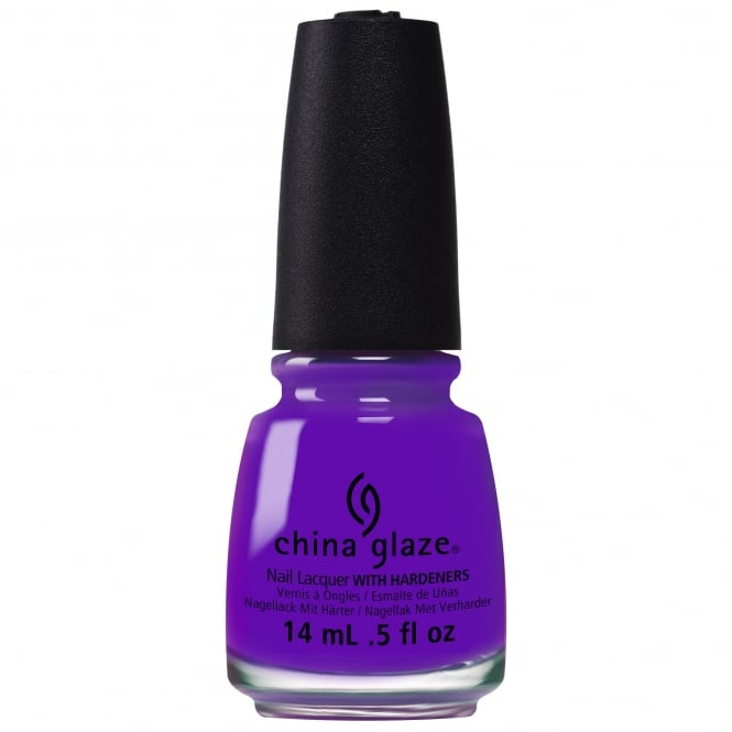 China Glaze Electric Nights Nail Polish Collection 2015 - Plur-Ple 14mL (82601)