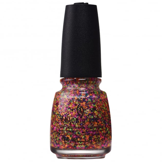 China Glaze Electric Nights Nail Polish Collection 2015 - Point Me to the Party 14mL