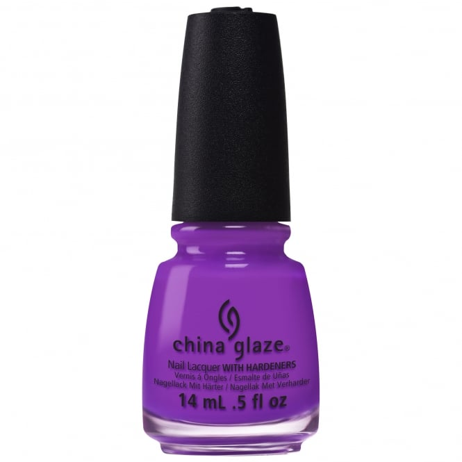 China Glaze Electric Nights Nail Polish Collection 2015 - Violet-Vibes 14mL (82600)