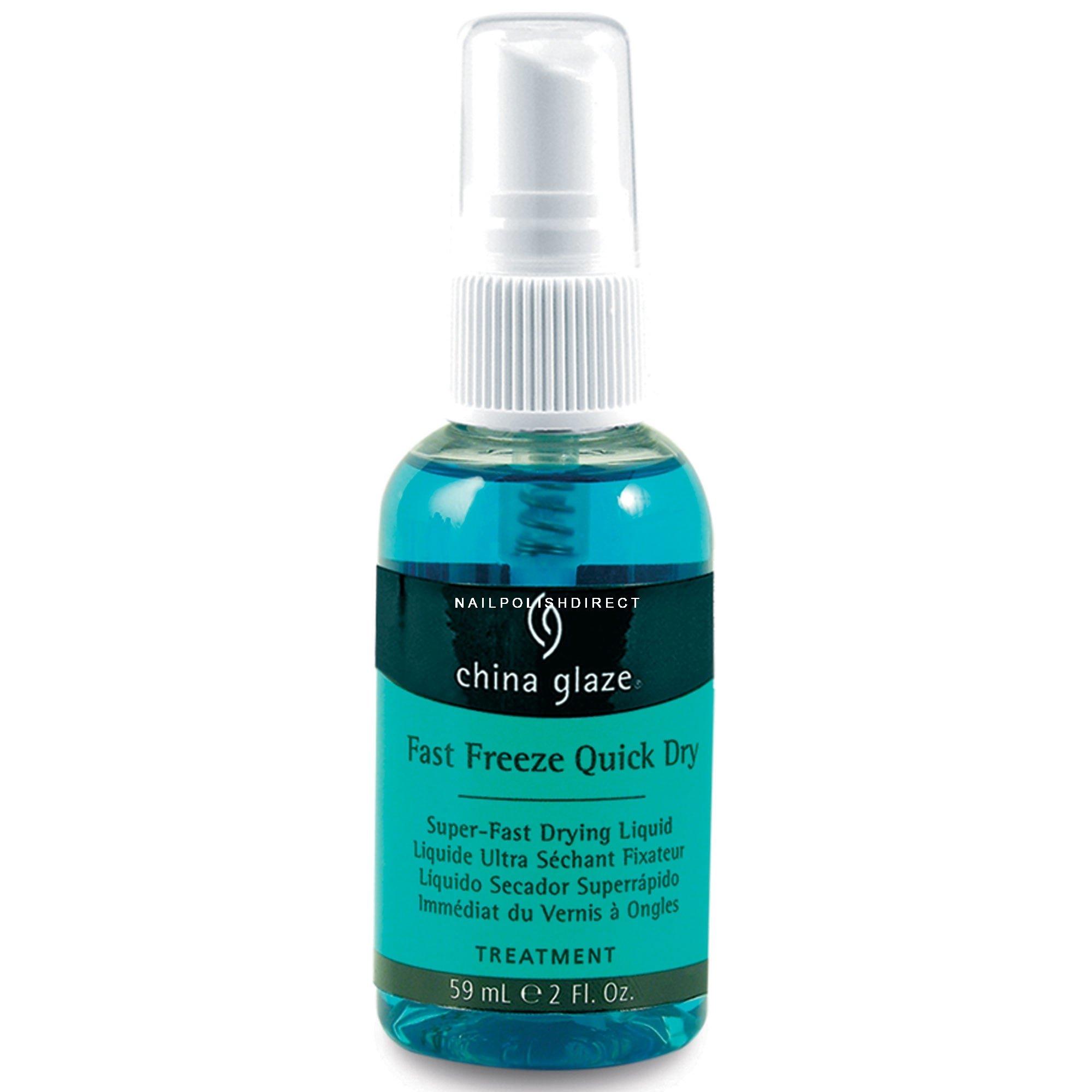 Spray on nail polish china glaze nail spray reviews - Fast Freeze Quick Dry Spray 59ml