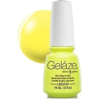 China Glaze Gel Nail Polish - Celtic Sun (Creme)