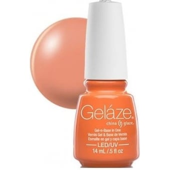China Glaze Gel Nail Polish - Peachy Keen (Creme)
