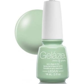 China Glaze Gel Nail Polish - Refresh Mint (Creme)