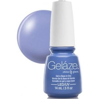 China Glaze Gel Nail Polish - Secret Peri-Winkle (Creme)