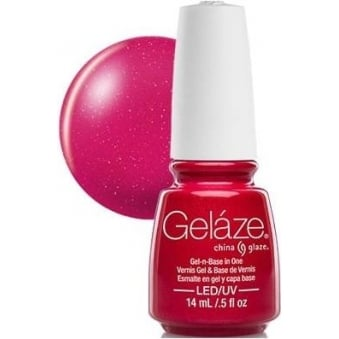 China Glaze Gel Nail Polish - Strawberry Fields (Shimmer)