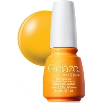 China Glaze Gel Nail Polish - Sun Worshiper (82234)