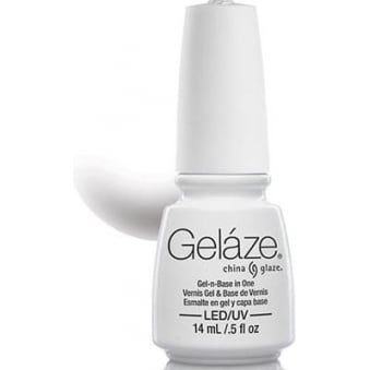 China Glaze Gel Nail Polish - White On White (Creme)