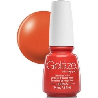 China Glaze Gel Nail Polish - Coral Star (Shimmer)
