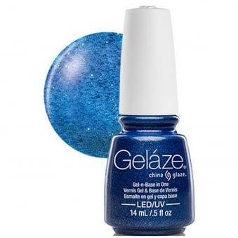 China Glaze Gel Nail Polish - Dorothy Who (Glitter)