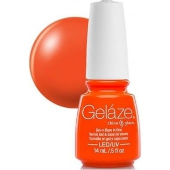 China Glaze Gel Nail Polish - Orange Knockout (Creme)