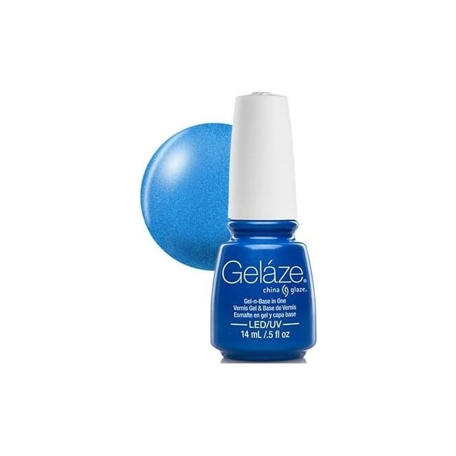 China Glaze Gel Polish China Glaze Gel Nail Polish - Splish Splash (Shimmer)