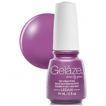 China Glaze Gel Nail Polish - Spontaneous (Creme)