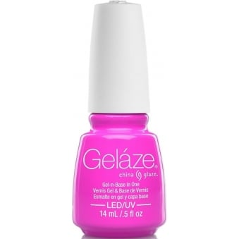 China Glaze Lite Brites 2016 Gel Nail Lacquer Collection - Pink To That 14ML