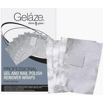 China Glaze Professional Gel And Nail Polish Remover Wraps (100 Remover Wraps)