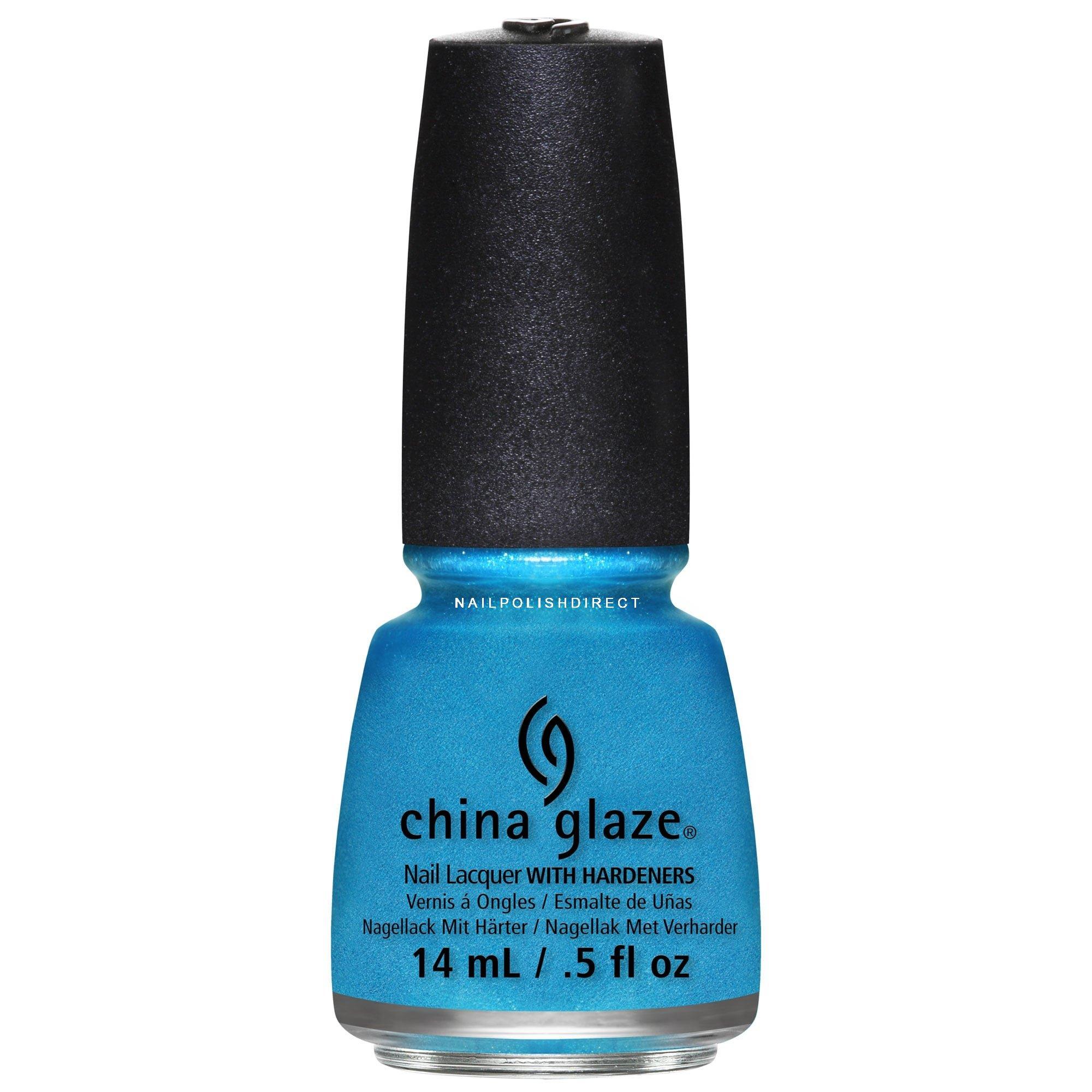 China Glaze Happy Holiglaze Nail Polish Collection So Blue