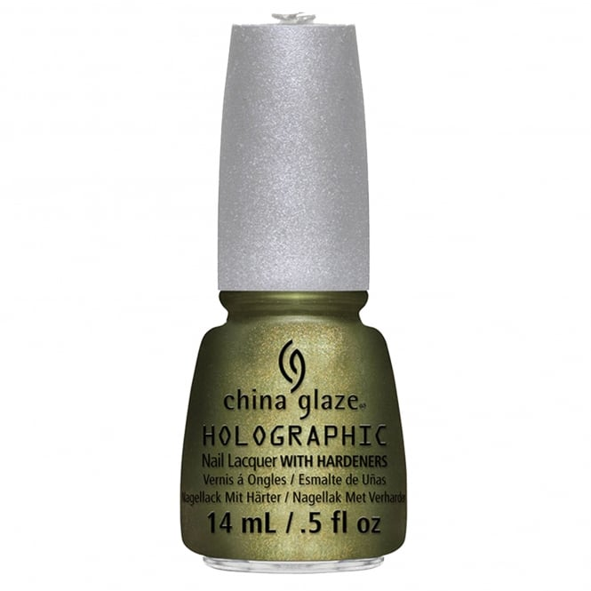China Glaze Hologlam Nail Polish Collection - OMG a UFO 14ml (81162)