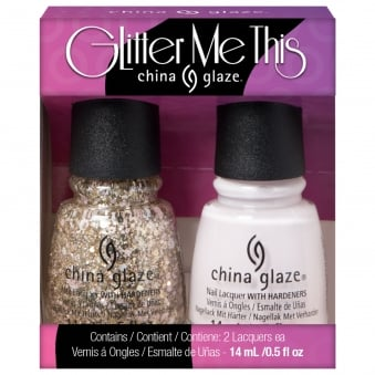 House Of Colour 2016 Nail Polish Spring Collection Duo - Glitter Me This Nail Kit x2 15ml