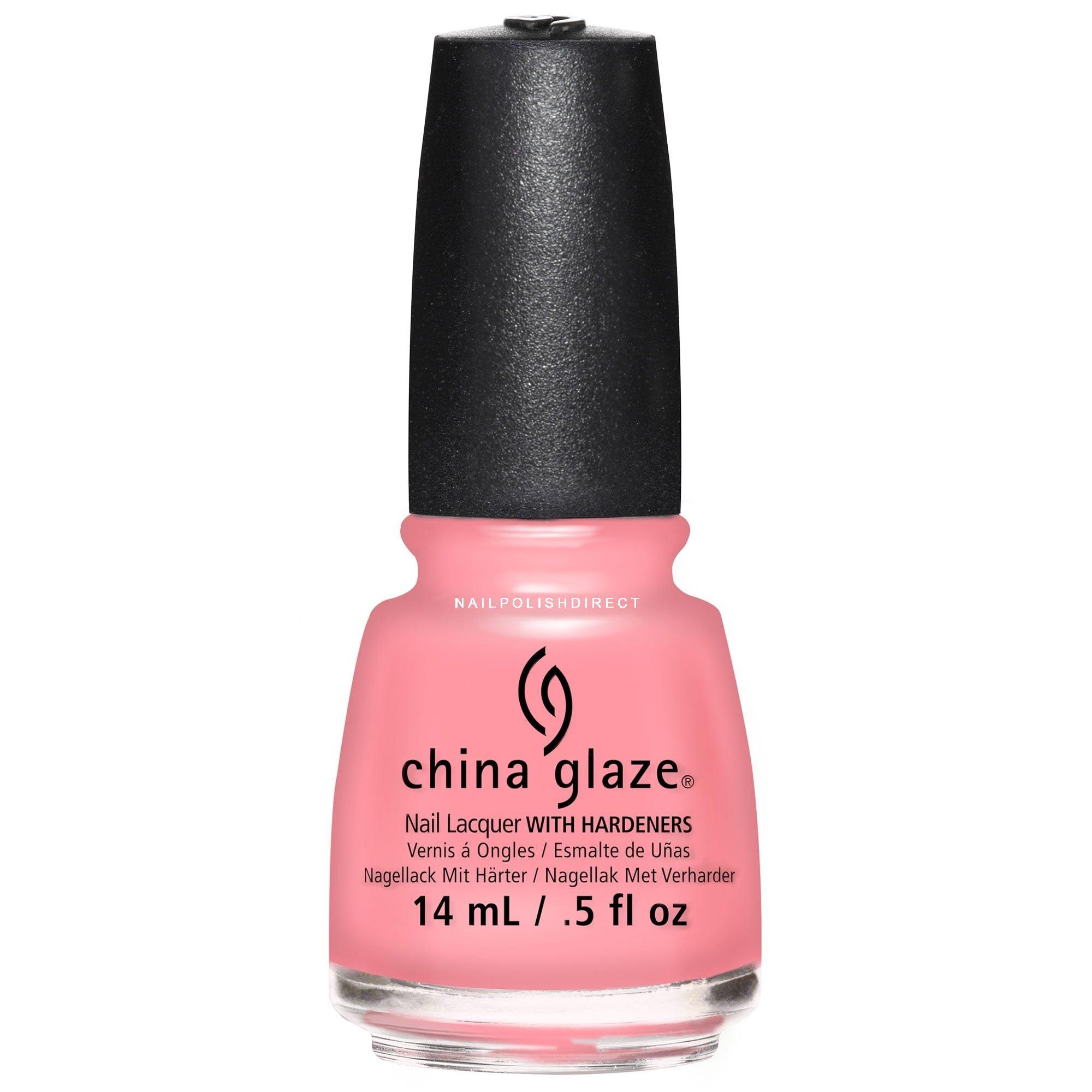 China Glaze Red Nail Polish: China Glaze House Of Colour 2016 Nail Polish Pink Or Swim